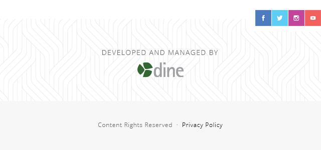 Developed and Managed by DINE | Copyright and Privacy Policy
