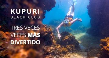 Kupuri Beach Club: tres veces más divertido