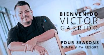 Chef Victor Garrido at Four Seasons Punta Mita Resort