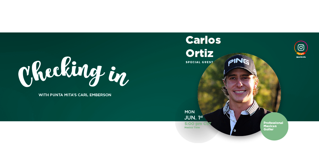 Checking In with Carlos Ortiz