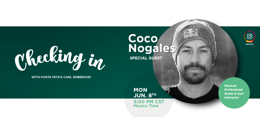 Checking In with Coco Nogales