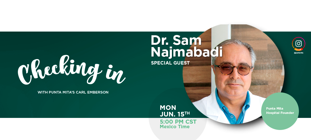 Checking In with Carl Emberson and Dr. Sam Najmabadi